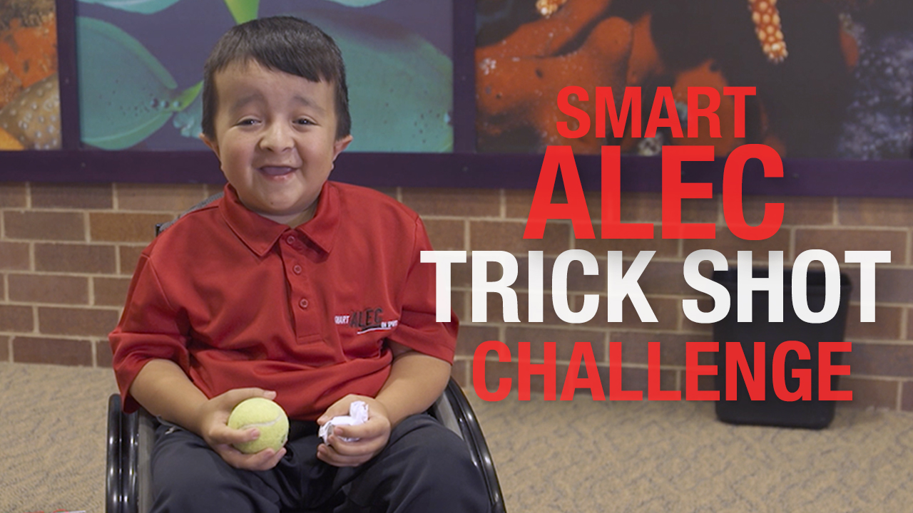 Smart Alec Trick Shot Challenge Highlights